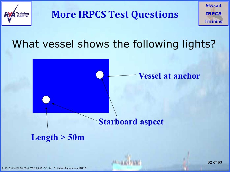 More IRPCS Test Questions