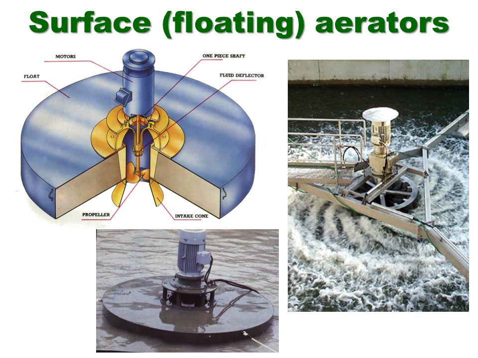 Surface (floating) aerators