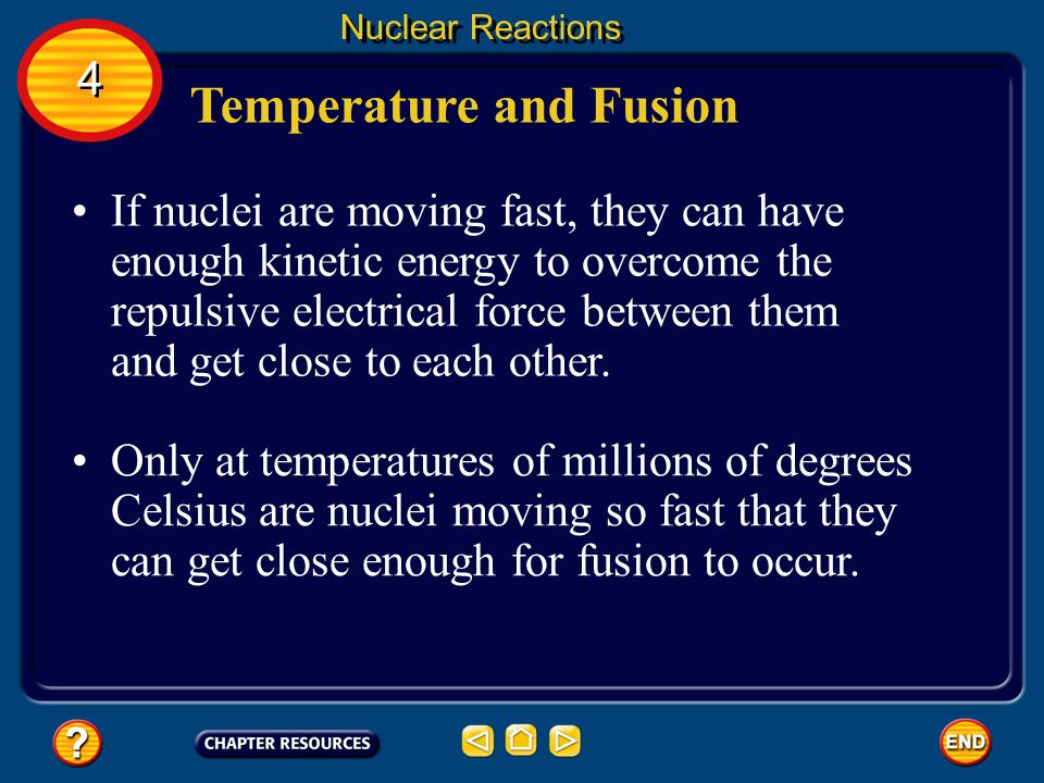 Temperature and Fusion