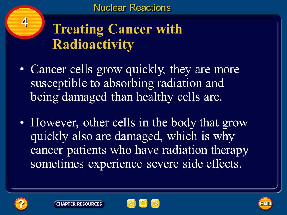 Treating Cancer with Radioactivity