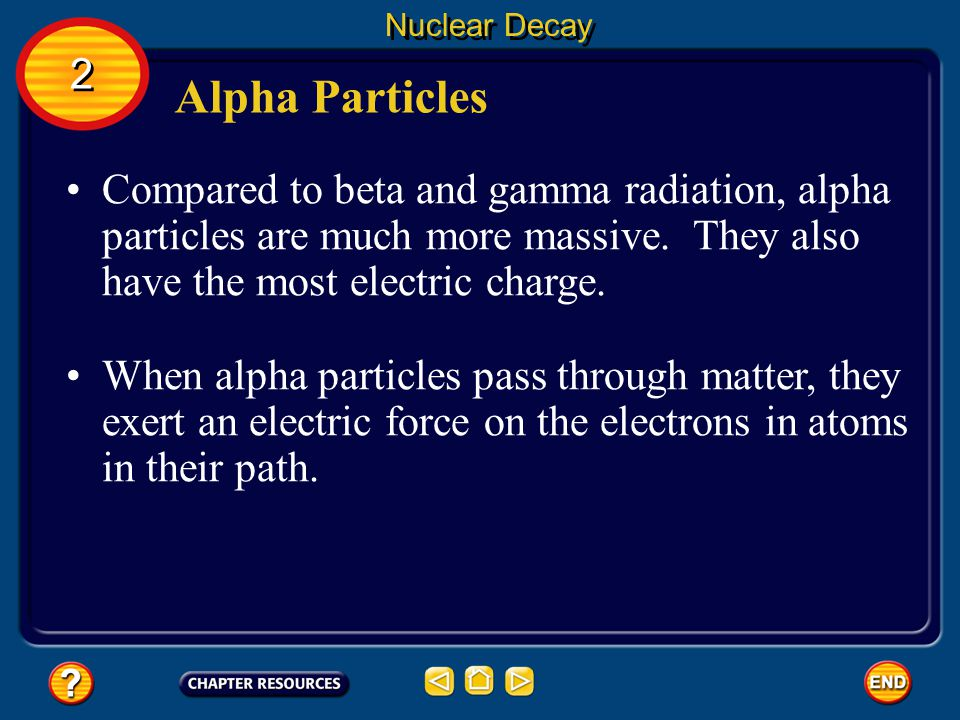 Nuclear Decay 2. Alpha Particles.
