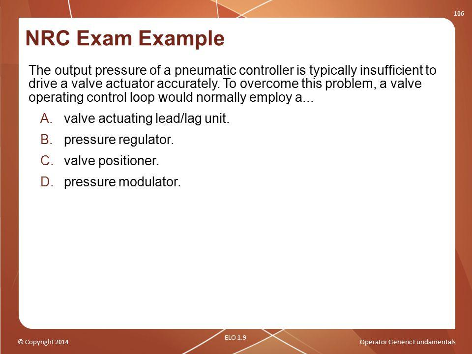 NRC Exam Example