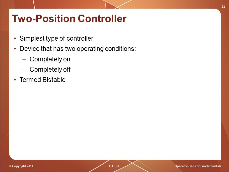 Two-Position Controller