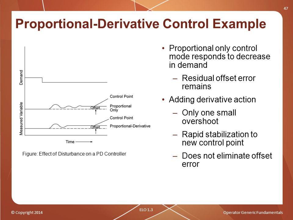Proportional-Derivative Control Example
