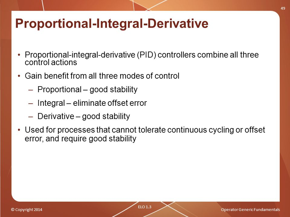 Proportional-Integral-Derivative