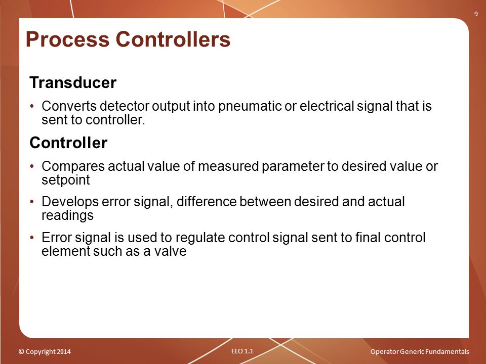Process Controllers Transducer Controller