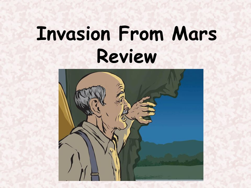 Invasion From Mars Review