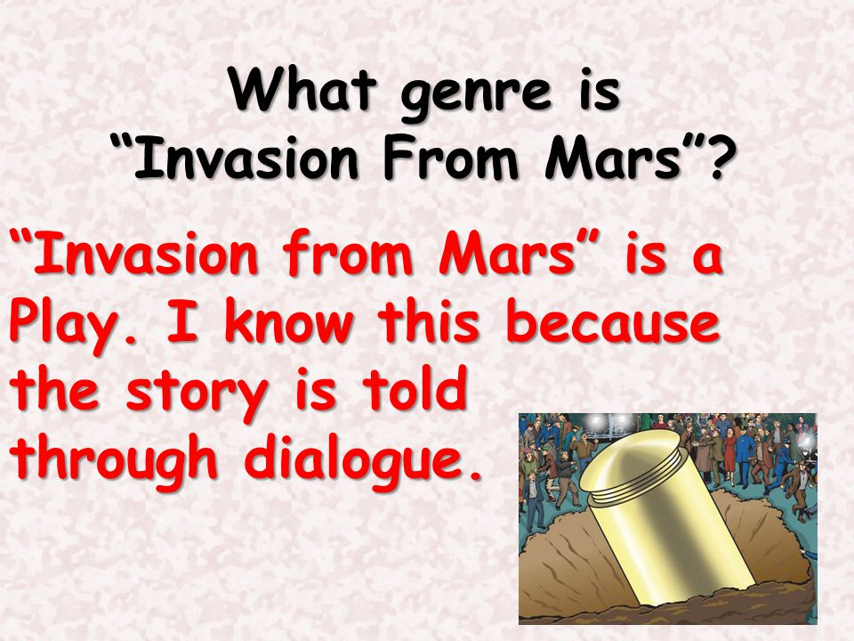 What genre is Invasion From Mars