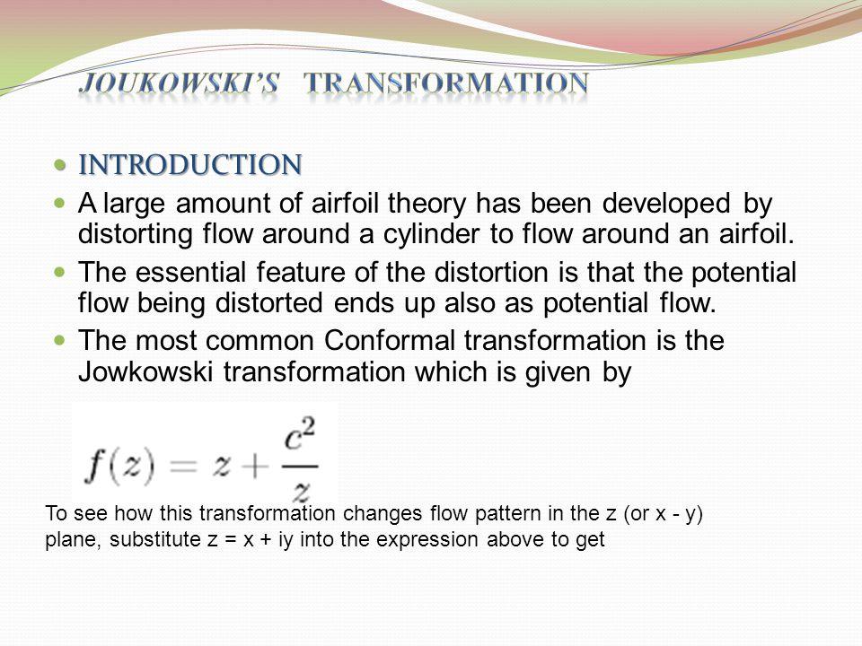 JOUKOWSKI'S transformation
