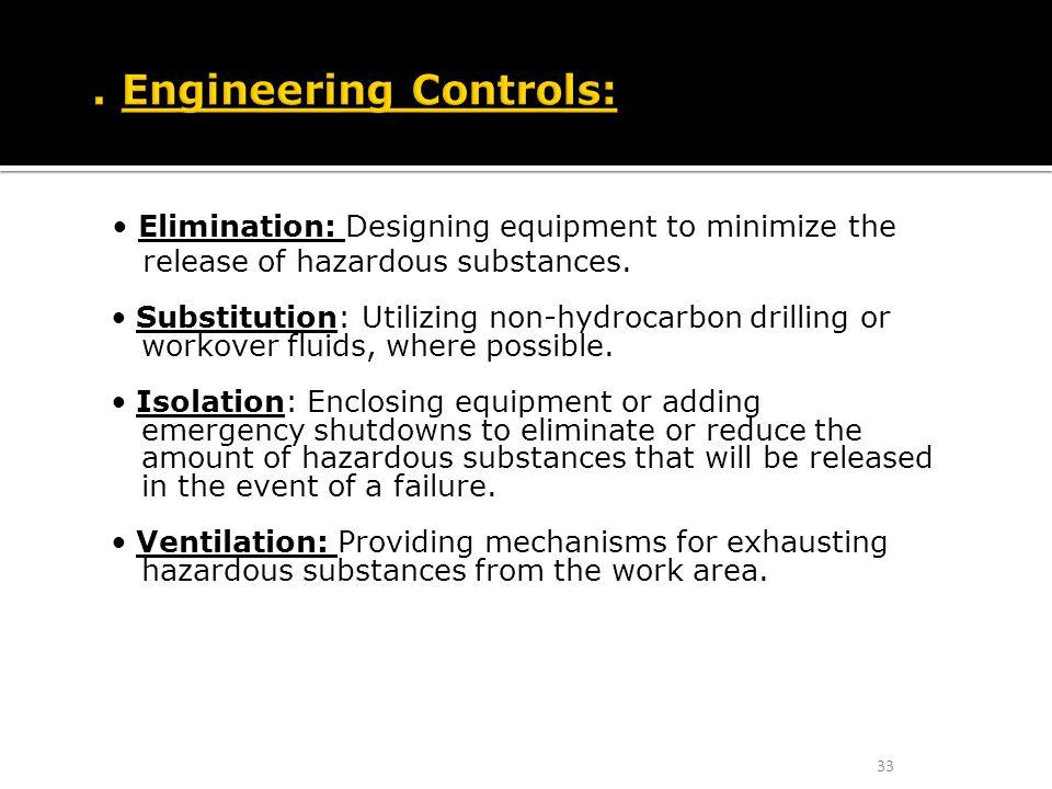 1. Engineering Controls:
