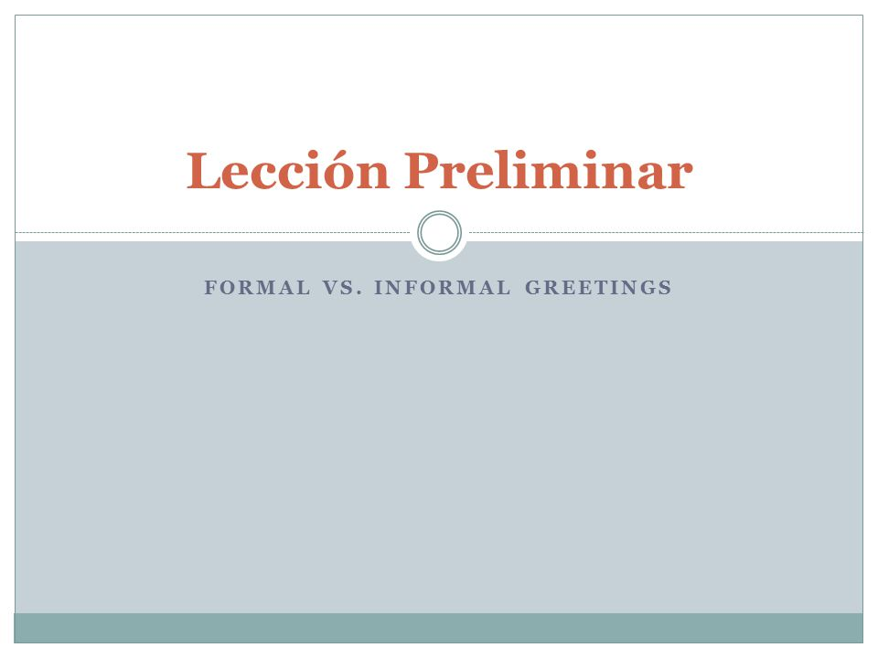 Formal vs informal greetings ppt video online download formal vs informal greetings m4hsunfo