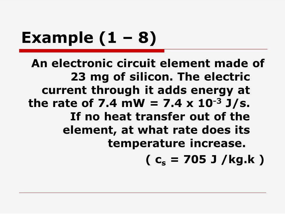 Example (1 – 8)