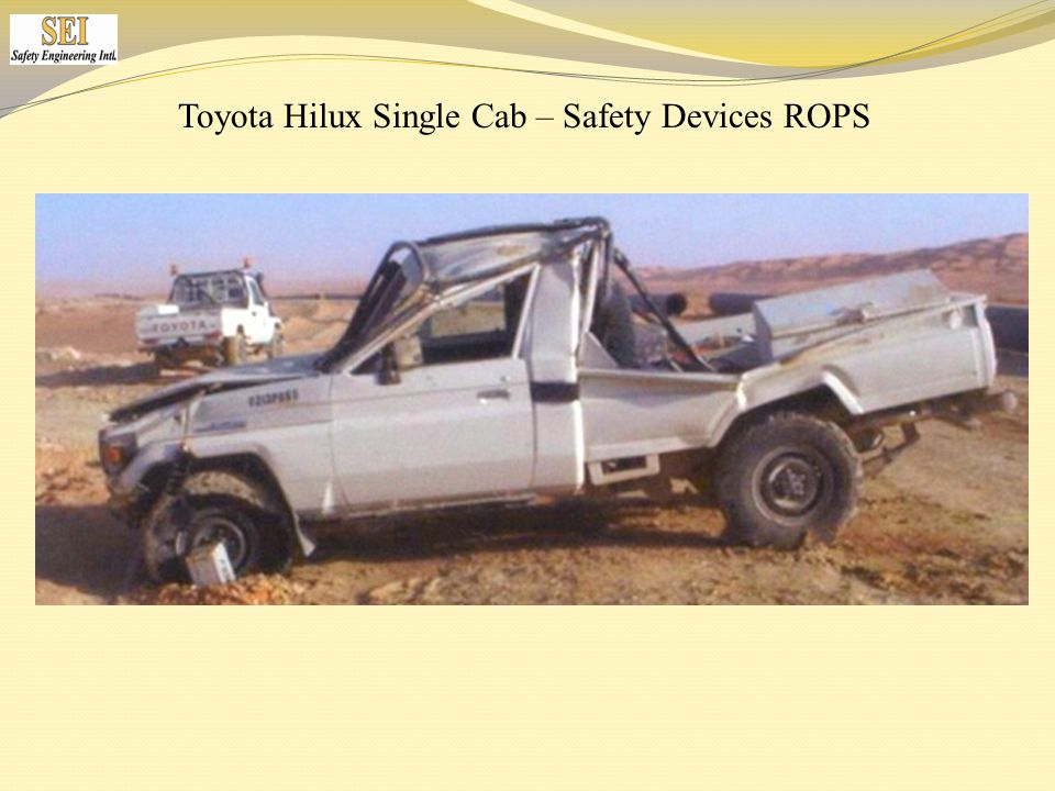 Toyota Hilux Single Cab – Safety Devices ROPS