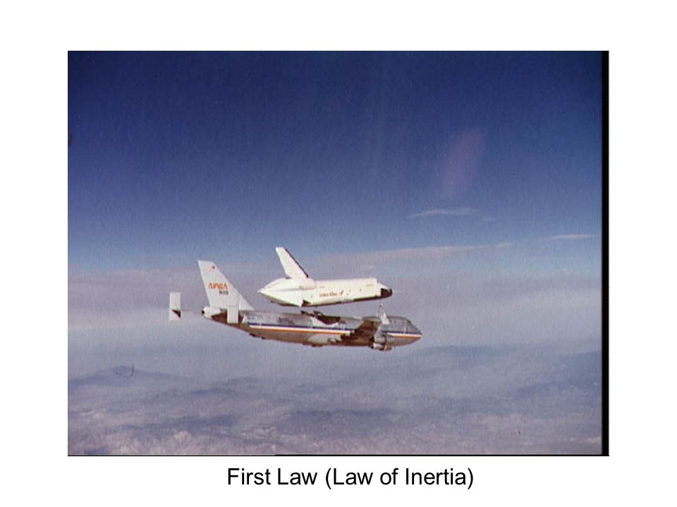 First Law (Law of Inertia)