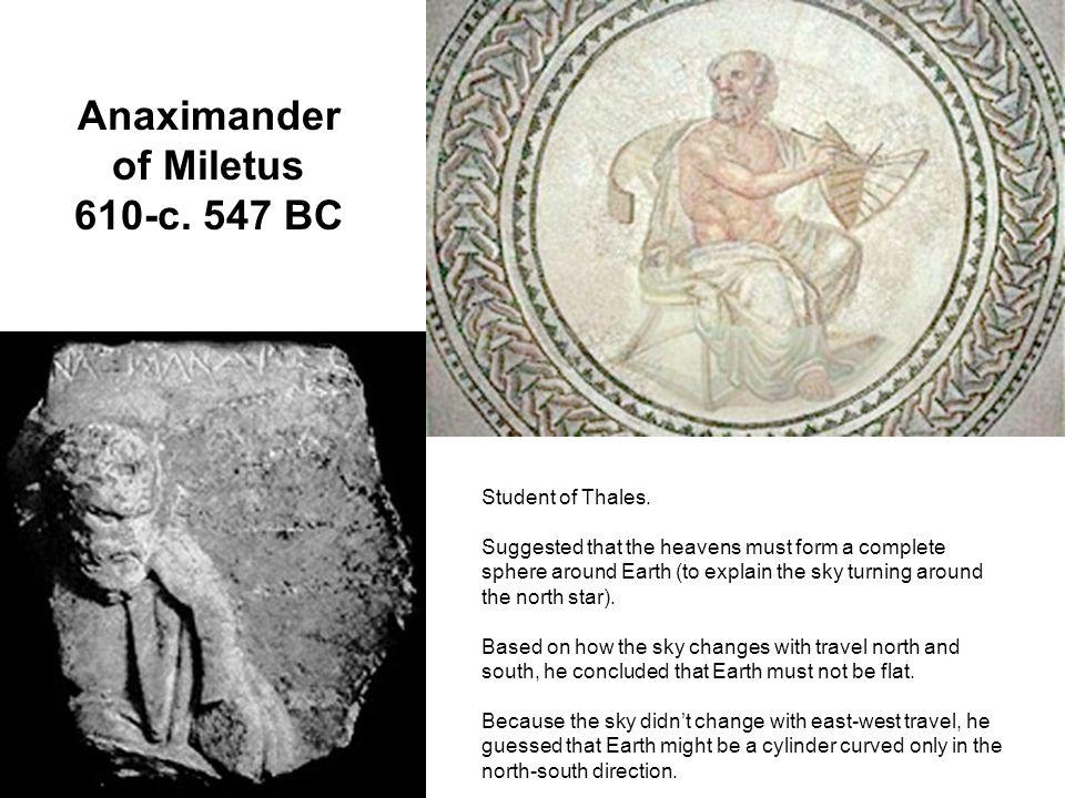 Anaximander of Miletus 610-c. 547 BC