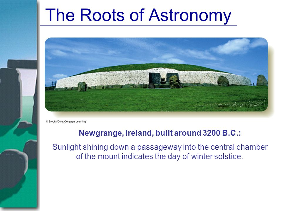 Newgrange, Ireland, built around 3200 B.C.: