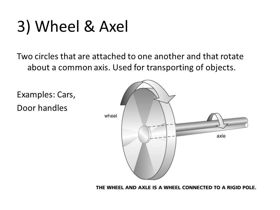 3) Wheel & Axel