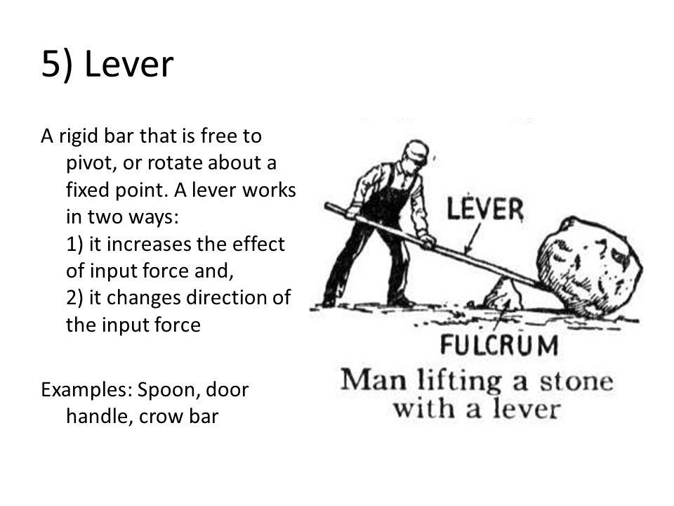 5) Lever