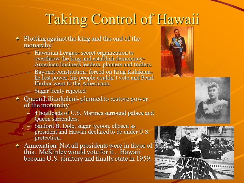 Taking Control of Hawaii