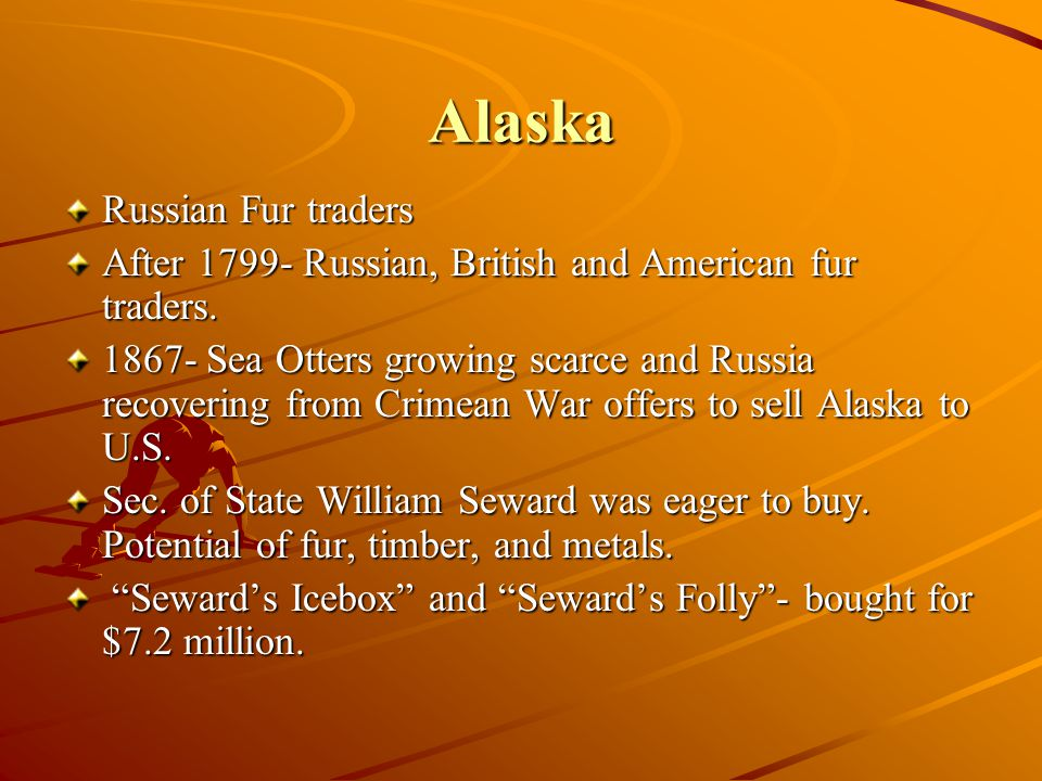 Alaska Russian Fur traders