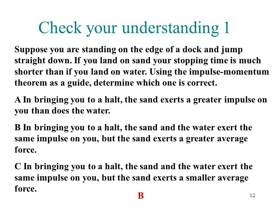 Check your understanding 1