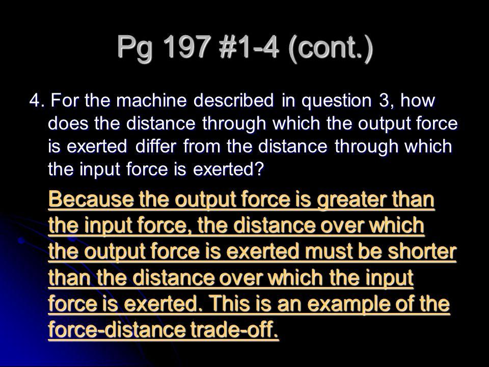 Pg 197 #1-4 (cont.)