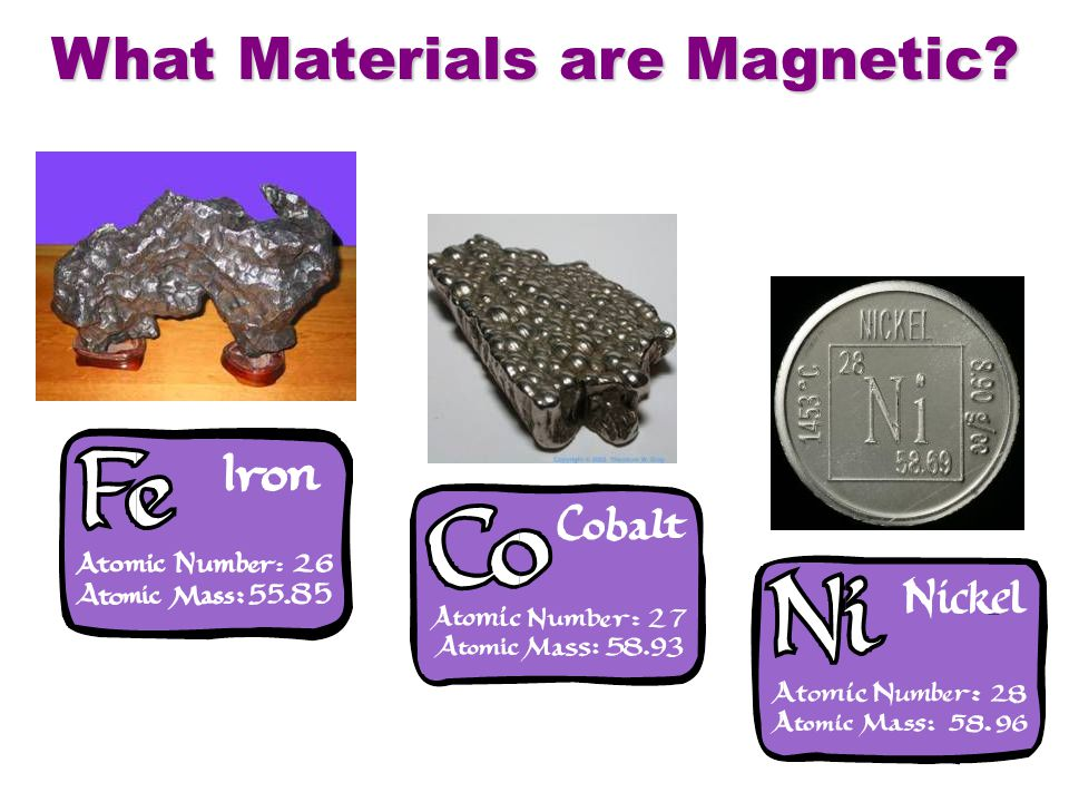 What Materials are Magnetic