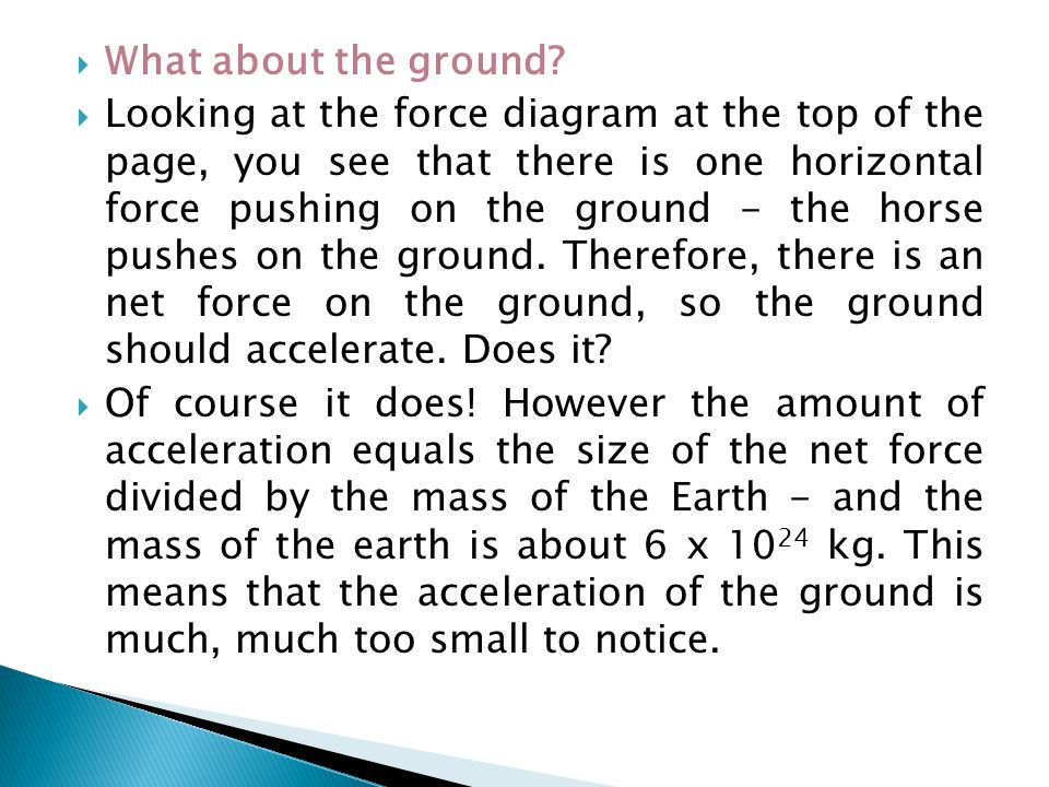 What about the ground