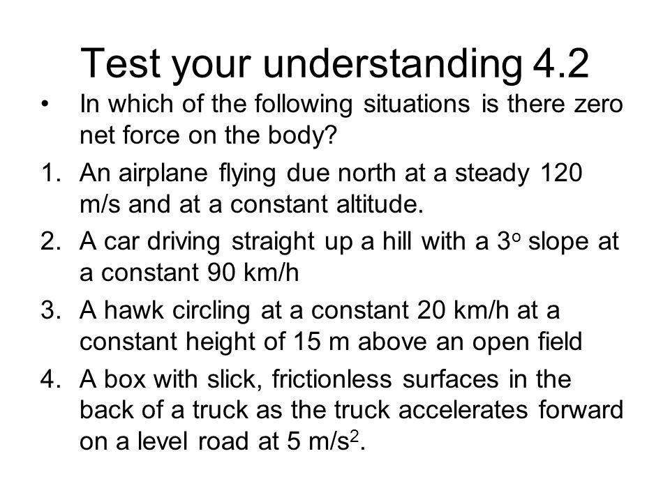 Test your understanding 4.2