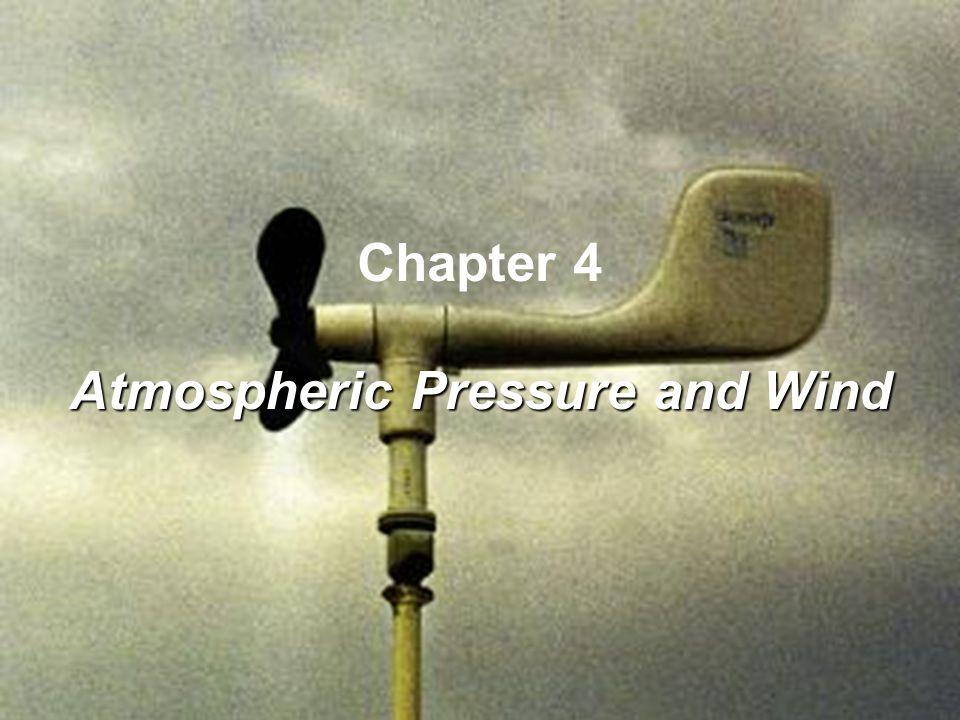 Atmospheric Pressure and Wind