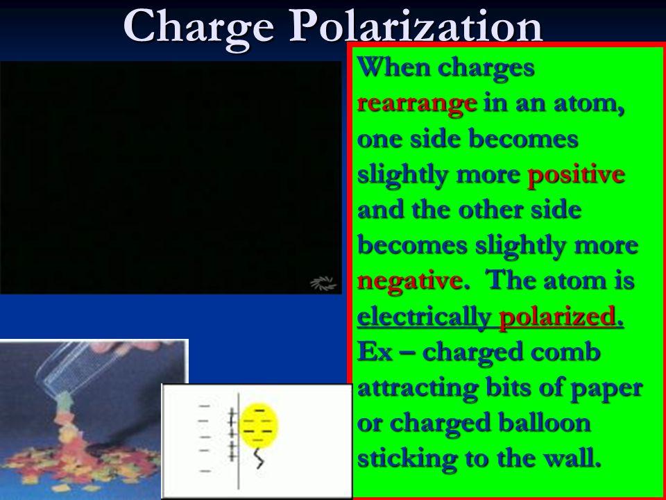 Charge Polarization