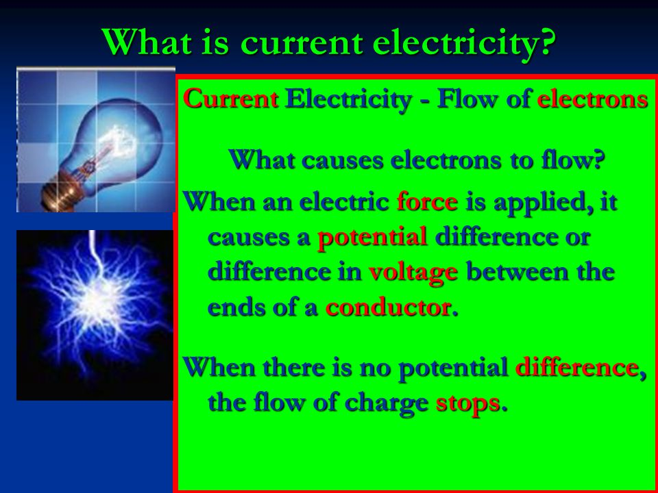 What is current electricity