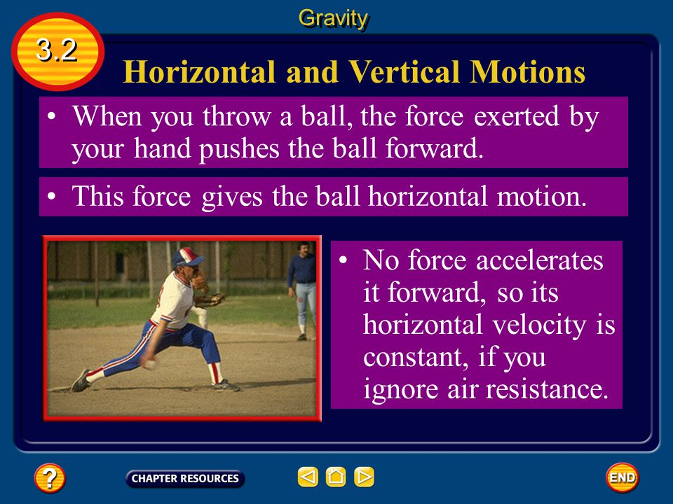 Horizontal and Vertical Motions