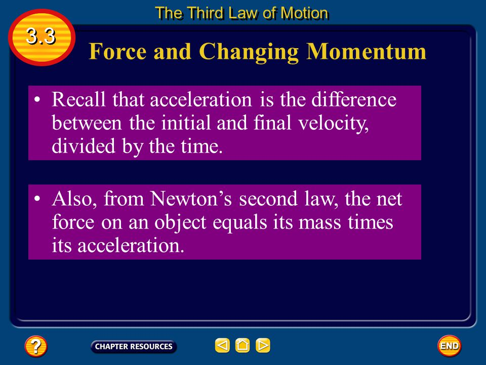 Force and Changing Momentum