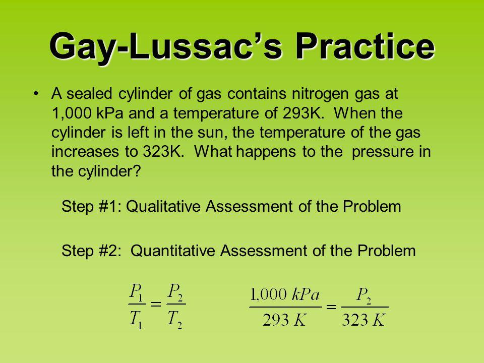 Gay-Lussac's Practice
