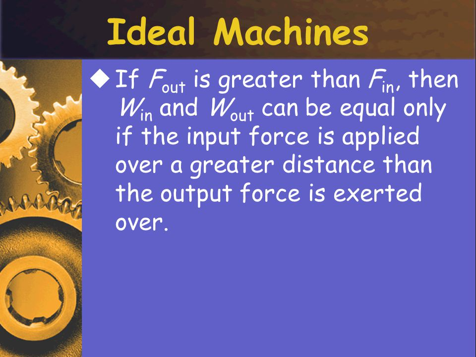 Ideal Machines