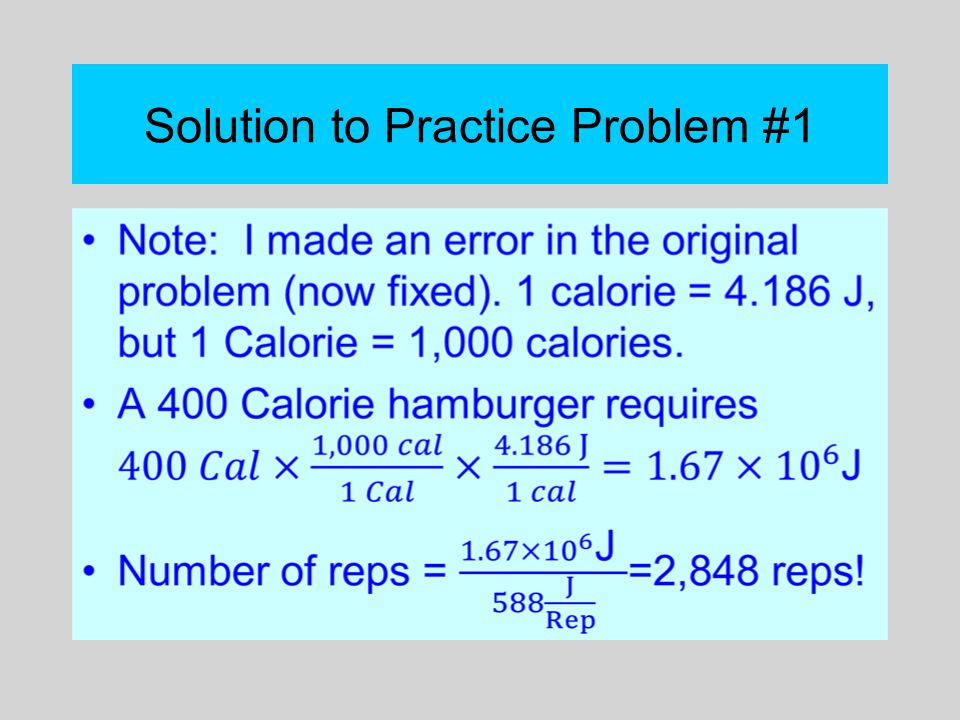 Solution to Practice Problem #1