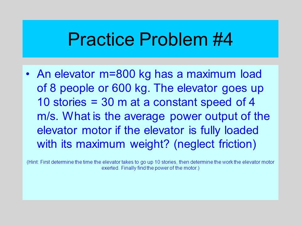 Practice Problem #4