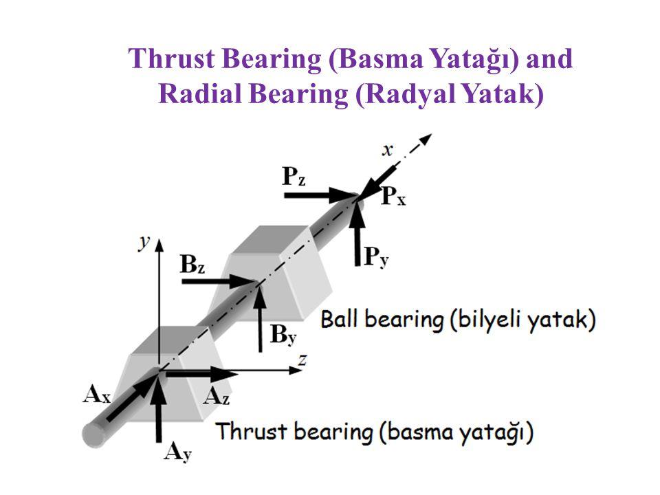 Radial Bearing (Radyal Yatak)