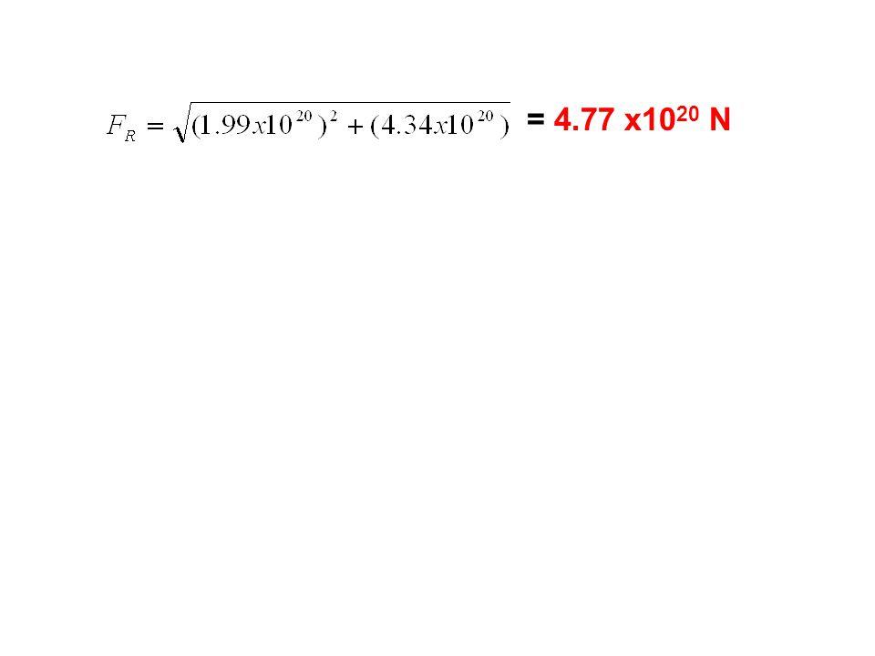 = 4.77 x1020 N