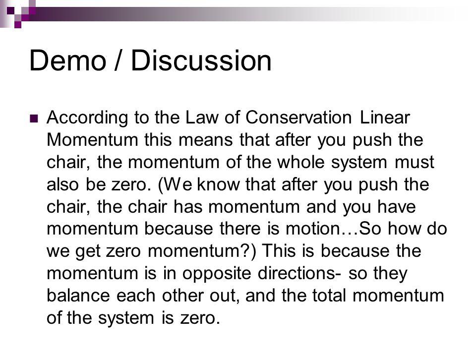 Demo / Discussion