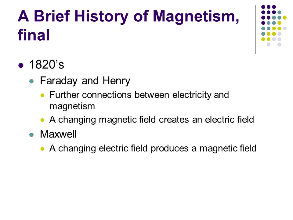 A Brief History of Magnetism, final