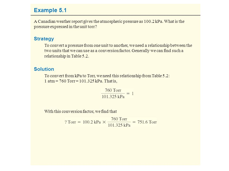Example 5.1 Strategy Solution