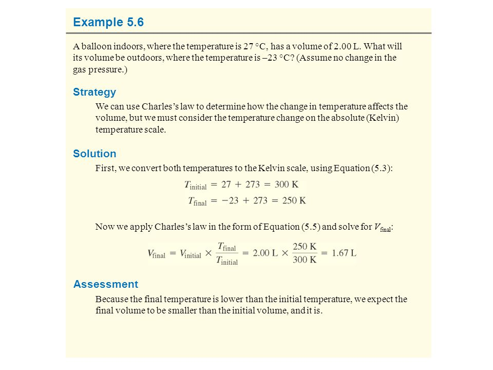 Example 5.6 Strategy Solution Assessment