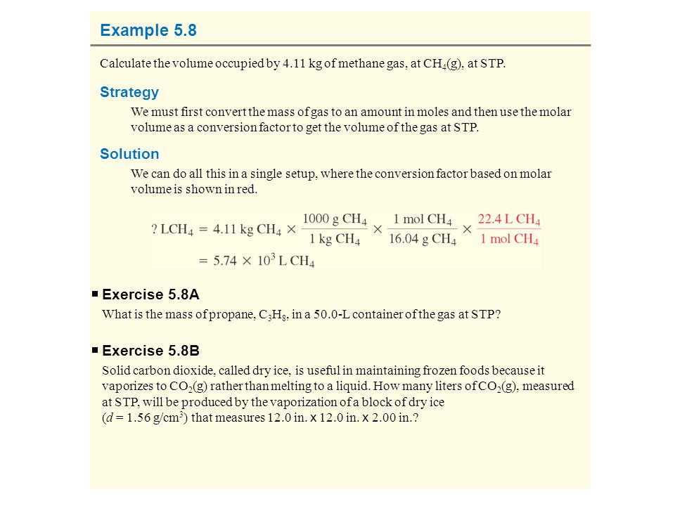 Example 5.8 Strategy Solution Exercise 5.8A Exercise 5.8B
