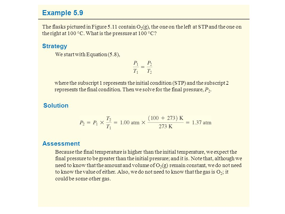 Example 5.9 Strategy Solution Assessment