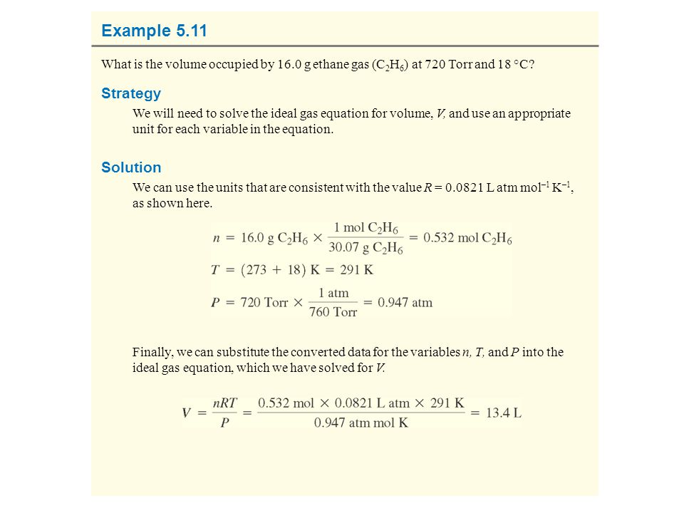 Example 5.11 Strategy Solution