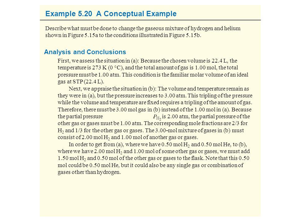 Example 5.20 A Conceptual Example