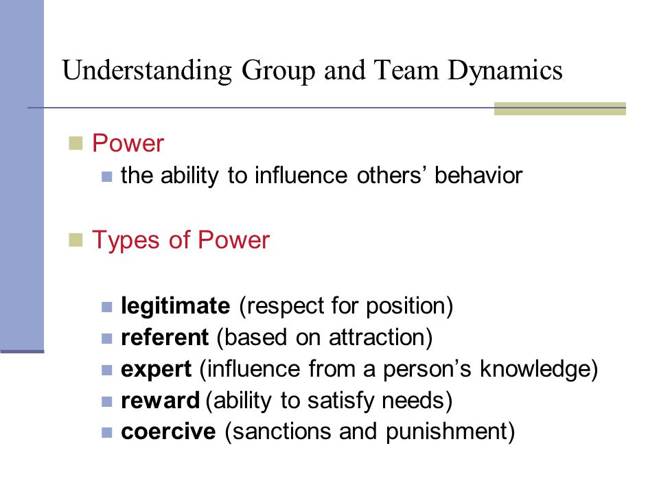 Understanding Group and Team Dynamics