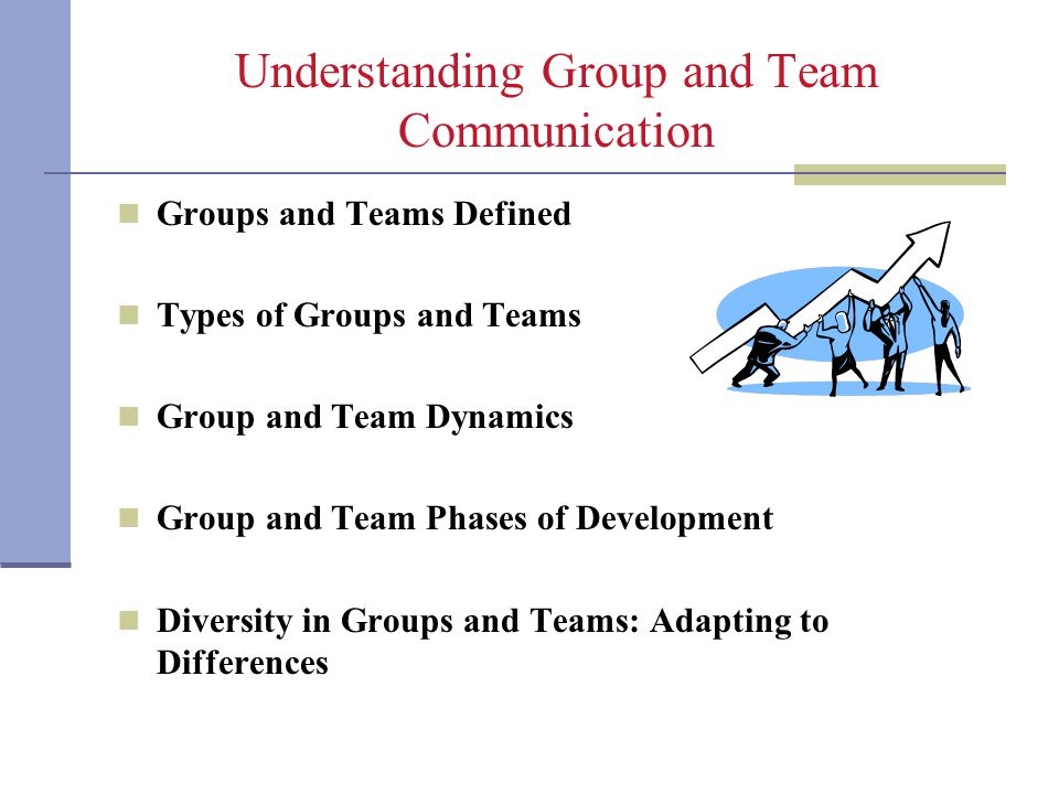 Understanding Group and Team Communication